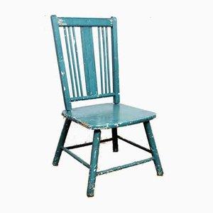 Chaise d'Enfant Mid-Century en Bois