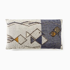 Mediterraneo Blu Cushion by Paulina Herrera Letelier for Mariantonia Urru