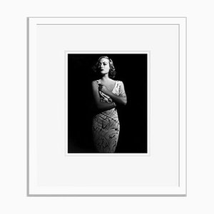 Joan Crawford Archival Pigment Print Framed in White by Alamy Archives