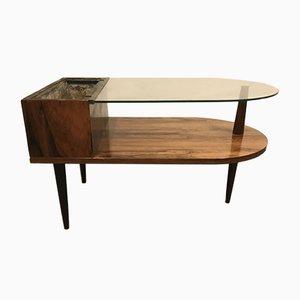 Tavolino da caffè in palissandro di CFC Silkeborg, anni '60
