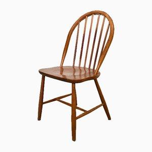 Danish Solid Teak Side Chair by Erik Ole Jørgensen for Tram Chairs, 1960s