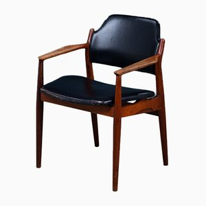 Mid-Century Danish Rosewood Armchair by Arne Vodder, 1960s