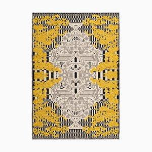 Yellow Flower Garden Rug by Caterina Quartana for Mariantonia Urru