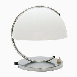Lampe de Bureau Mushroom Space Age par Luigi Massoni pour Guzzini, 1960s