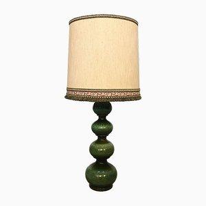 Große Deutsche Keramik Tischlampe von Kaiser Leuchten, 1960er