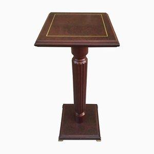 Mid-20th-Century Mahogany Pedestal