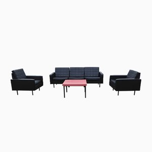 Model Fabiola Living Room Set by Pierre Guariche for Meurop, 1960s, Set of 6