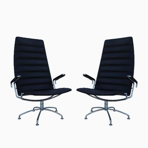 SAS Copenhagen Airport Lounge Chairs by Jens Ammunsen for Fritz Hansen, 1981, Set of 2