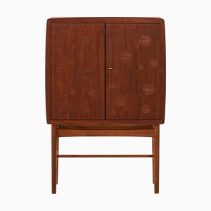Danish Bar Cabinet by Tove & Edvard Kindt-Larsen for Gustav Bertelsen, 1940s