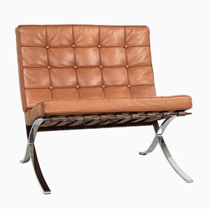Barcelona Lounge Chair by Mies van der Rohe for Knoll, 1970s
