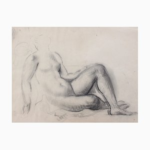 Study of Reclining Nude by Guillaume Dulac, 1920s