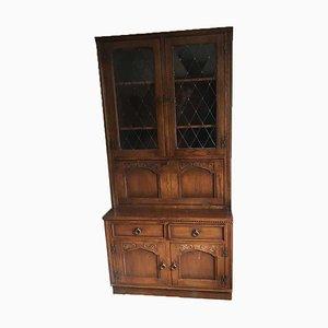 Solid Walnut Display Cabinet, 1960s