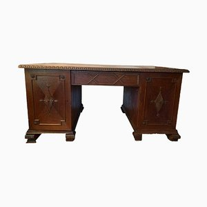 Antique Desk in Solid Wood
