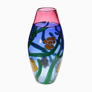 Murano Incalmo Vase by Berit Johansson for Pauly, 1990s