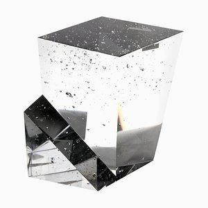 Czech Crystal Monolith with Undercut Step by Jan Exnar, 1998