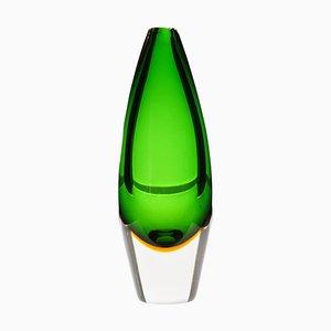 Massiccio Sommerso Color Murano Bud Vase by Mario Pinzoni for Seguso Vetri d'Arte, 1960s