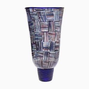 3 Avventurina Color Stripe Vase by Massimiliano Schiavon for Pauly, 1990s