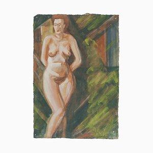 Nude - Original Drawing - Mid 20th Century Mid-20th Century
