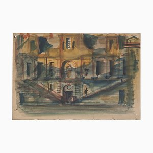 Scenography - Original Drawing - 1960s 1960s