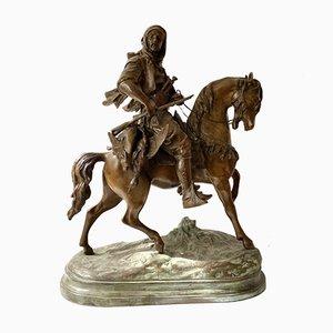 Antike Ritterskulptur von James Hunt