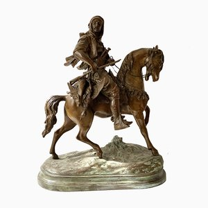 Antique Knight Sculpture by James Hunt