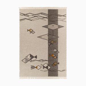 Mediterraneo Moretto Carpet by Paulina Herrera Letelier for Mariantonia Urru