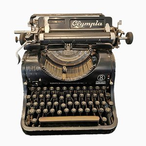 Vintage Model 8 Typewriter from Olympia
