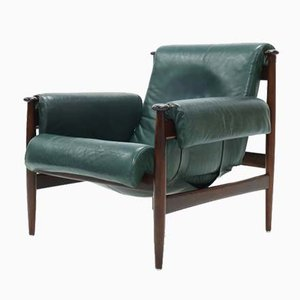 Swedish Rosewood Amiral Easy Chair by Eric Merthen for Ire Mobler, 1960s