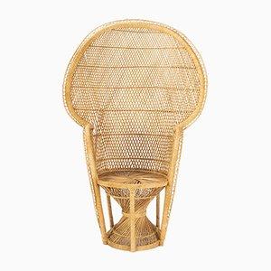 Papasan Stuhl aus Rattan