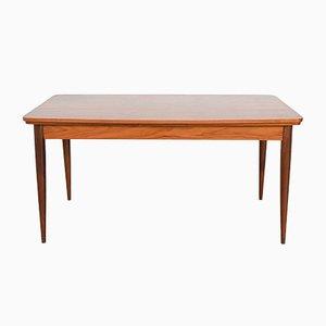 Model Paola Teak Dining Table by Oswald Vermaercke for V-Form, 1960s