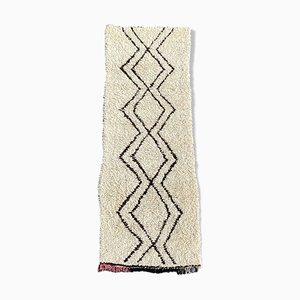 Beni Ouarain Berber Corridor Teppich aus Wolle