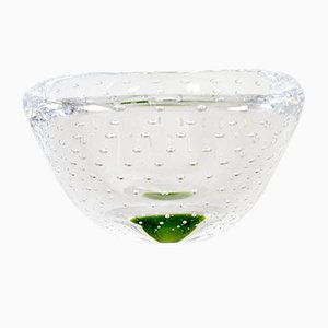 Glass Bowl by Vicke Lindstrand for Kosta, 1950s