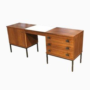 Rosewood Desk by Antoine Philippon & Jacqueline Lecoq, 1960s