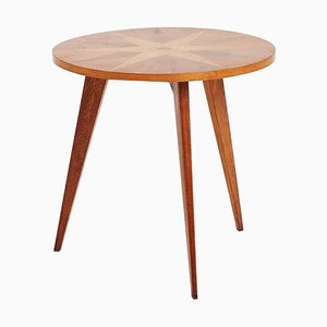 Mid-Century French Oak Side Table, 1940s