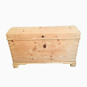 Antique Chest in Natural Wood