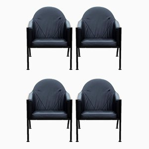 Vintage Armchairs from EFG, Set of 4