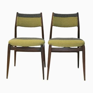Mid-Century Danish Style Dining Chairs, 1960s, Set of 2