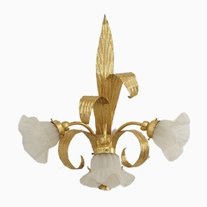 Vintage Florentine Wall Light, 1970s