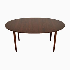 Danish Rosewood Dining Table by Finn Juhl for Niels Vodder, 1960s
