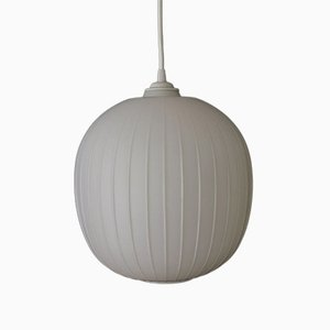 Bologna Glass Ceiling Lamp by Aloys Gangkofner for Peill & Putzler, 1970s