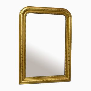 Louis Philippe Golden Wood Mirror