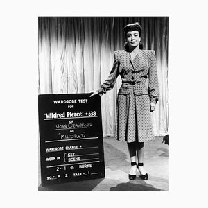 Joan Crawford Wardrobe Test Archival Pigment Print Framed in White by Everett Collection