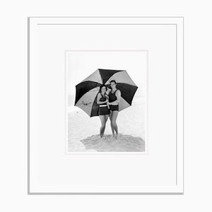 Newlyweds Archival Pigment Print Framed in White by Everett Collection