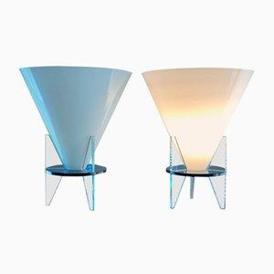 Lampes de Bureau Modèle Otéro Vintage par Dordoni pour Fontana Arte, 1986, Set de 2