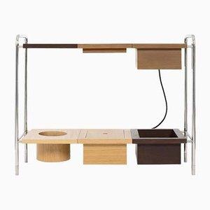 Oscar Console Table W/ Charging Box by Marqqa