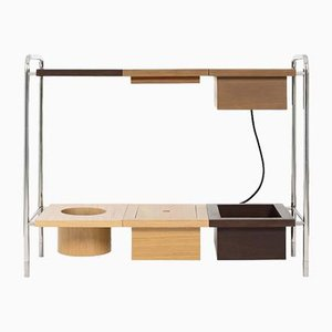 Oscar Console Table W/ Charging Box by Marqqa