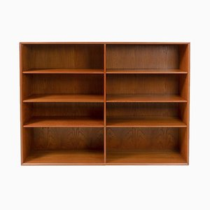 Teak Double Bookcase by Arne Vodder for Sibast, 1950s, Set of 2