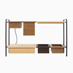 Theodore Console Table W/ Charging Box by Marqqa