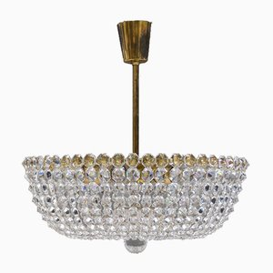 Crystal Chandelier from Lobmeyr, 1950s