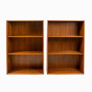 Teak Bookcases by Arne Vodder for Sibast, 1950s, Set of 2